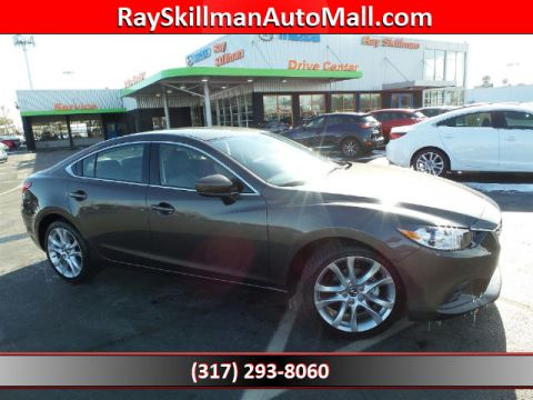 New 2017 Mazda6 i TOURING A/T